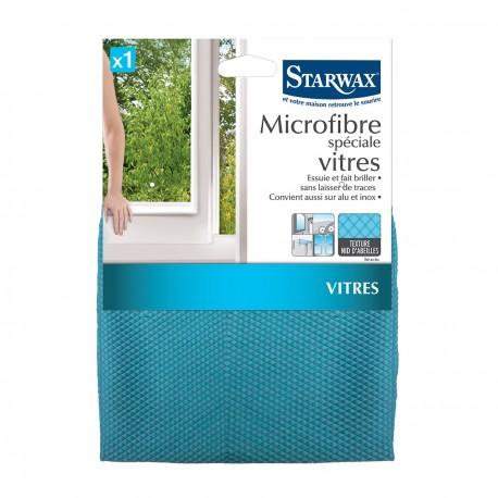 microfibre sp ciale vitres texture nid d 39 abeilles starwax manubricole. Black Bedroom Furniture Sets. Home Design Ideas