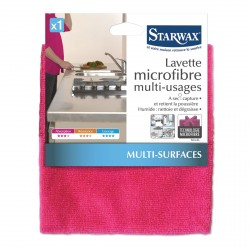 Lavette microfibre multi-usages - Starwax