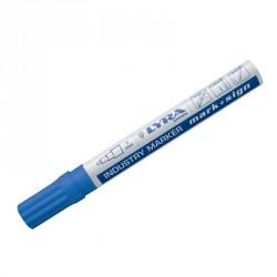 Marqueur peinture laquée bleu pointe 2-4 mm - Lyra