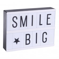 Lightbox A5 + Set de 85 lettres