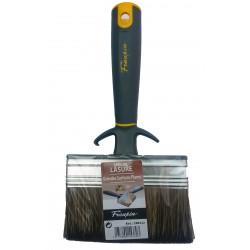 Brosse bi-matière spéciale lasures et traitements des bois - largeur 100 mm