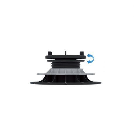 Plot reglable Auto-nivelant pour dalles 65 à 95 mm - Jouplast