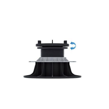 Plot reglable Auto-nivelant pour dalles 95 à 155 mm - Jouplast
