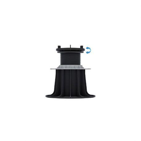 Plot reglable Auto-nivelant pour dalles 155 à 245 mm - Jouplast