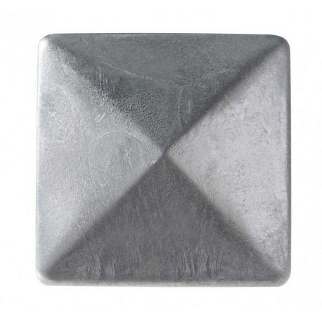 Chapeau pyramide pour poteau bois - 7x7
