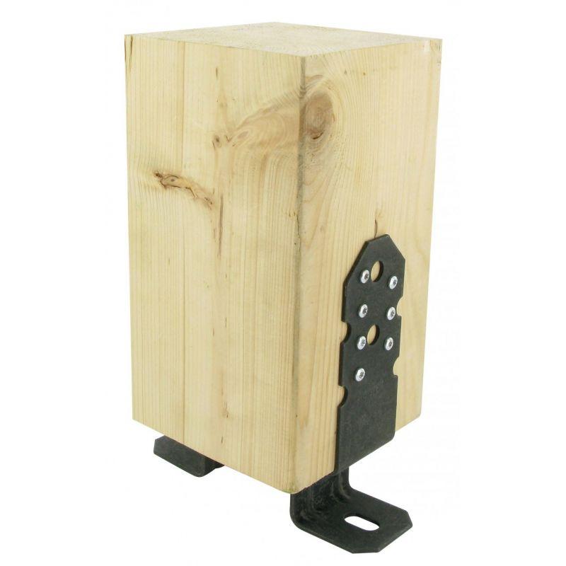 pied de poteau pergola simpson manubricole. Black Bedroom Furniture Sets. Home Design Ideas