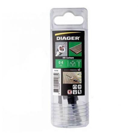 Kit pour perçage fraisage terrasse - Diamètre 4 mm
