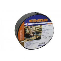 Rouleau de bande bitumeuse 80mm x 16m - EDMA