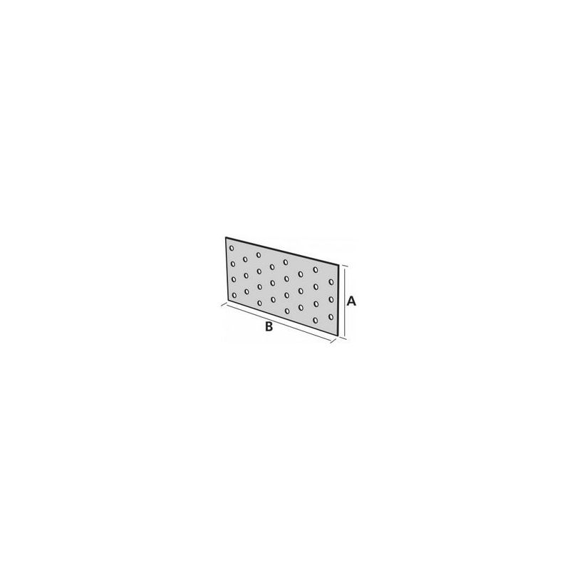 plaque perfor e acier galvanis 80 x 240 simpson manubricole. Black Bedroom Furniture Sets. Home Design Ideas