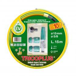 Batterie arrosage TRICOPLUS anti-vrille 15x15 M