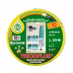 Batterie arrosage TRICOPLUS anti-vrille 19X20 M