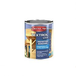 TEXTROL UV+ incolore Anti UV Spécial bardages - Bidon 5 L
