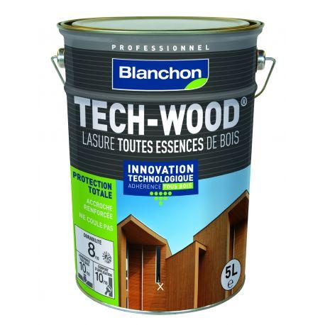 lasure tech wood incolore 5l blanchon manubricole. Black Bedroom Furniture Sets. Home Design Ideas