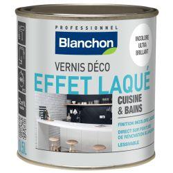 Vernis déco effet laqué pour cuisine et bains - 0,5 L